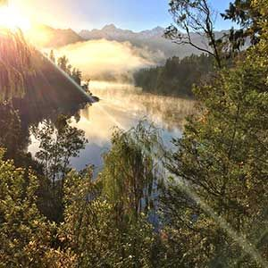 Lake Matheson, West Coast, South Island
