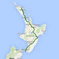 Kirra Tours 8 day Northern Discovery (AP) - see tour map