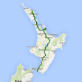 Kirra Tours 10 day Ultimate North Island (XP) - see tour map