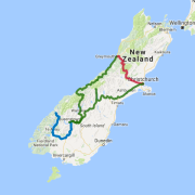 5 day Southern Alps Circuit Christchurch to Christchurch - see the full details