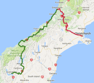2 day Tranz Alpine and West Coast Glaciers to Queenstown - view full itinerary