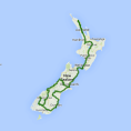 AAT Kings 17 day New Zealand Contrasts (LABC) - see tour map
