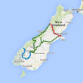 7 day Queenstown, Milford Sound and Glacier Highlights - see tour map