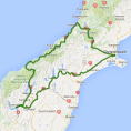 Grand Pacific 8 day South Island Escape and Warbirds over Wanaka - see tour map