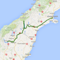 5 day Southern Alps to the Southern Lakes - see tour map
