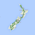 AAT Kings Inspiring Journeys 22 Day The Long White Cloud (NZIJ) - see tour map