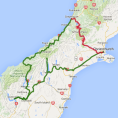 4 day Queenstown and Glacier Wonders - see tour map