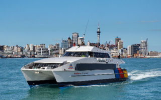 Cruise the harbour, Auckland, New Zealand
