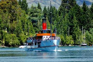 TSS Earnslaw, Queenstown