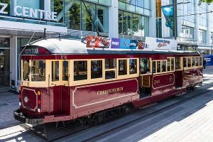 Explore the streets of Christchurch by tram