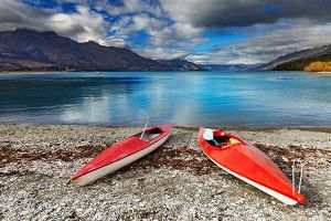 Go boating on Lake Wakatipu in Queenstown