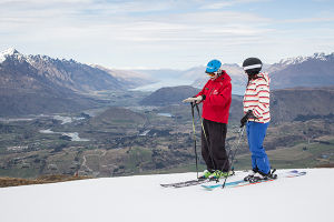 Improve your skiing with a lesson