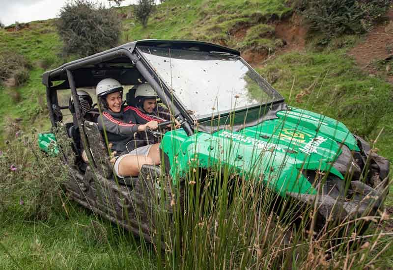 Off-road adventures at the Agrodome