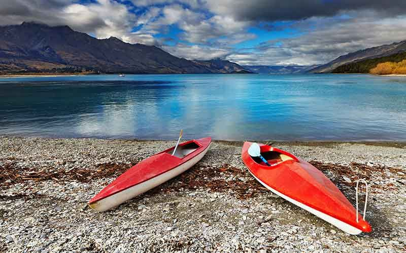 Take a boat onto Lake Wakatipu for the day
