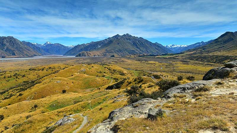 Mount Sunday, New Zealand