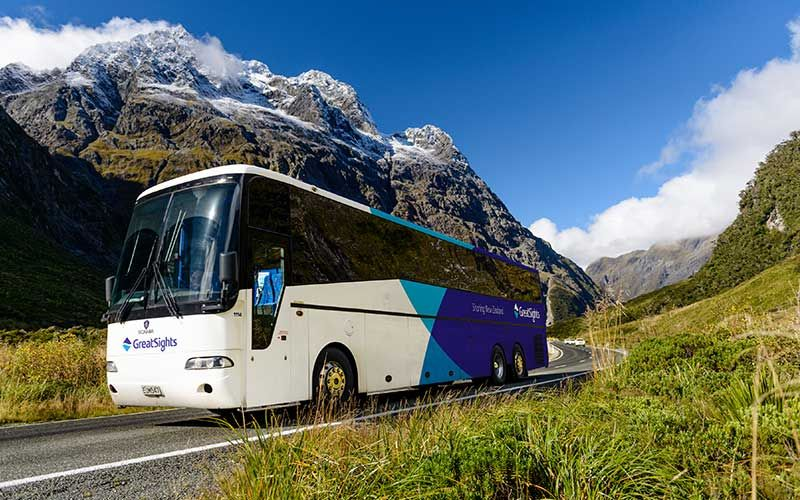 Great Sights Coach Tours, New Zealand
