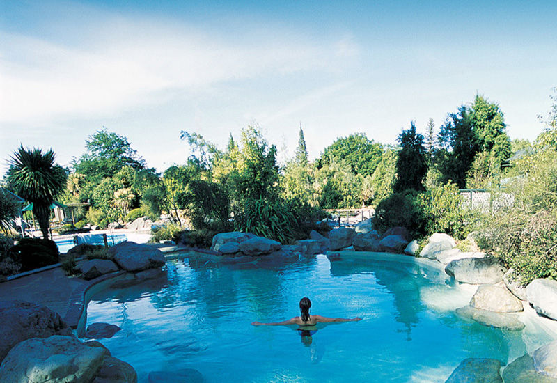 The pools at Hanmer Springs