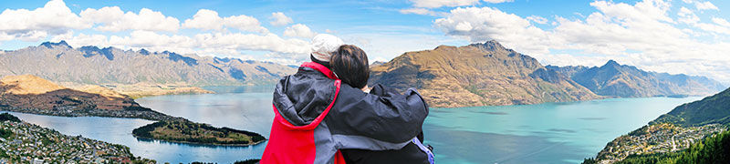Honeymoon in Queenstown, New Zealand