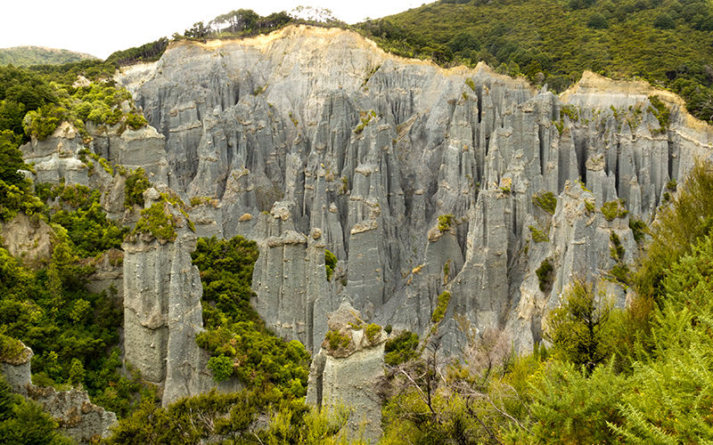Dimholt Road and Paths of the Dead - Putangirua Pinnacles, Wellington