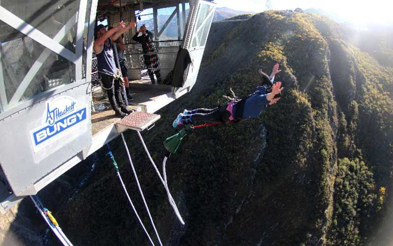 The Nevis Bungy, Queenstown