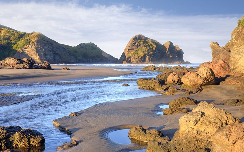 Explore Piha Beach