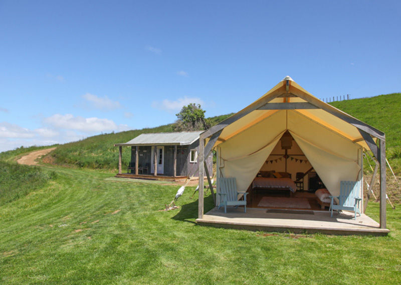 Ridge Top Farm glamping experience