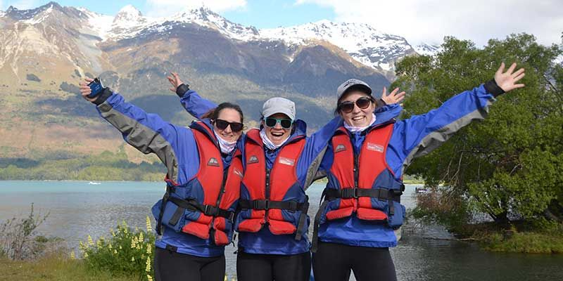 Travel agents, Dart River, Pure Journeys