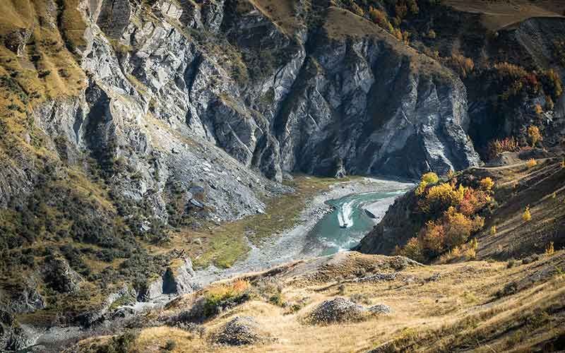 Skippers Canyon, Queenstown, New Zealand