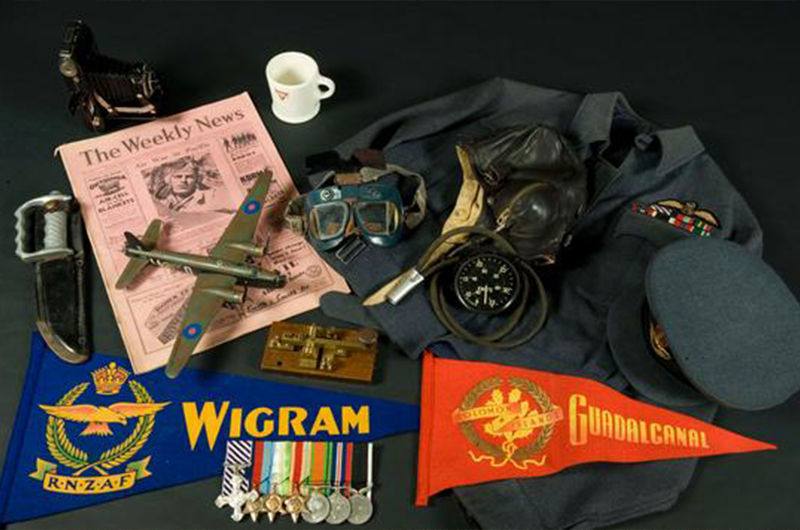 Collection at the Wigram Air Force Museum