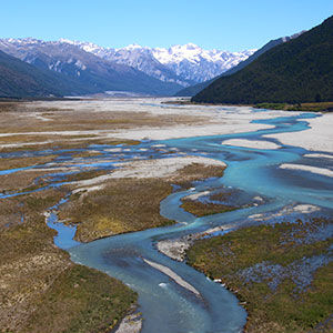 Travel through the beautiful Arthur's Pass National Park