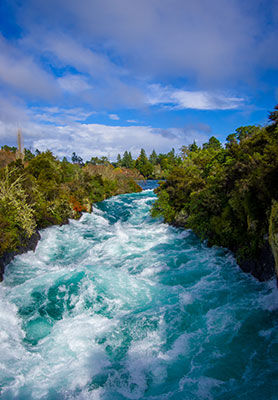 Huka Falls, Waikato River, New Zealand