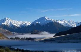 Incredible Southern Alps, New Zealand