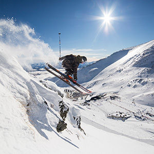The Remarkables ski field, Haka Tours