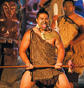 Maori cultural performance, New Zealand