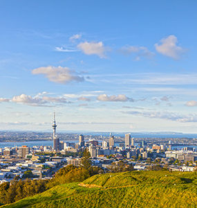 Auckland, New Zealand coach tour