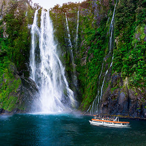 Milford Sound, New Zealand coach tours