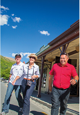 Exploring Arrowtown with AAT Kings