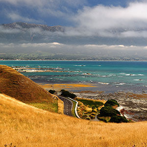 View from walk in Kaikoura