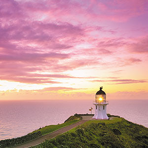 Cape Reinga Lighthouse at Sunrise