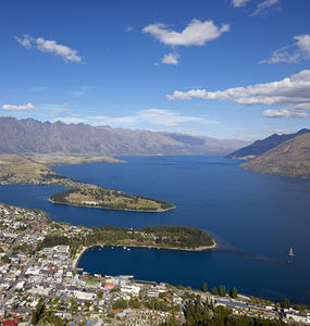 Arial View of Queenstown