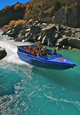 Go to the extremes, Jetboating in Queenstown