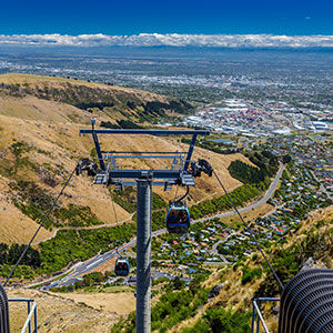Cable car, Christchurch, New Zealand