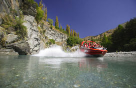Experience the thrill of a Jetboat on the Shotover River