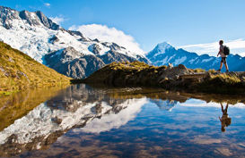 Mount Cook National Park Sealy Tarns Walk