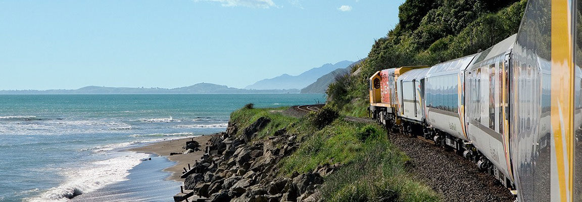 Coastal Pacific Train Christchruch to Picton
