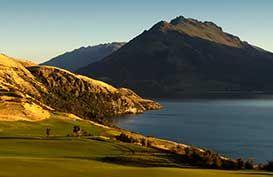 Golf Course at Jacks Point in Queenstown