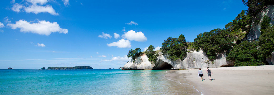 Cathedral Cove Marine Reserve New Zealand
