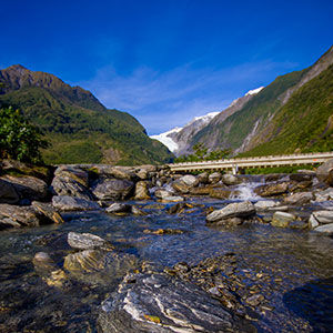 Visit Franz Josef Glacier on the West Coast