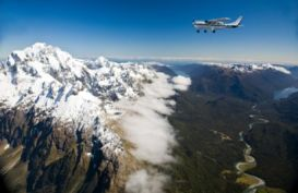 Milford Sound Fly Cruise Fly and Dart River Combo