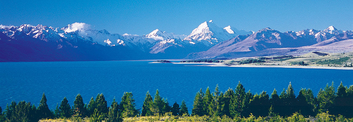 Mt Cook and Lake Pukaki